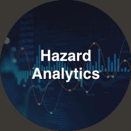 Hazard Analytics Button