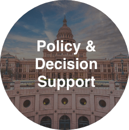 Policy and Decision Support Button