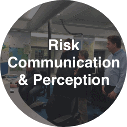 Risk Communication and Perception Button